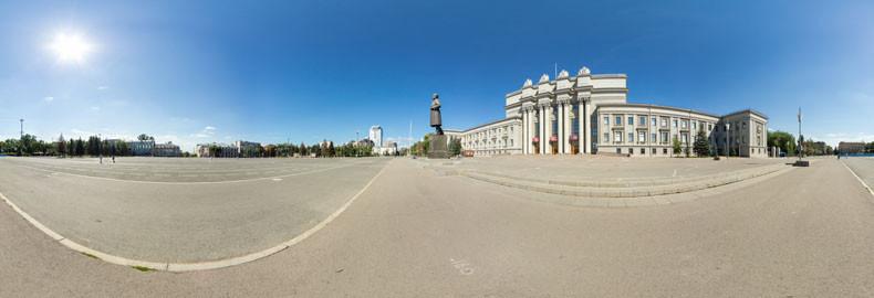 Виртуальная экскурсия по площади Куйбышева