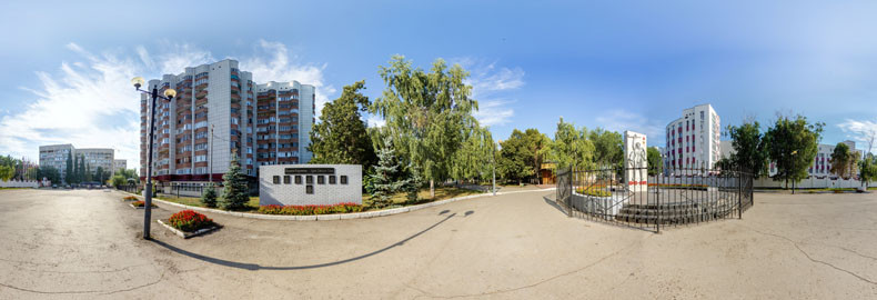 Виртуальная экскурсия по парку Металлургов