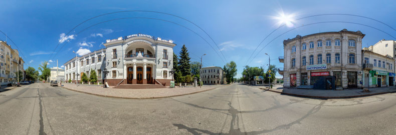 Виртуальная экскурсия по народному дому имени Пушкина