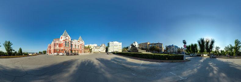 Виртуальная экскурсия по Театральной площади