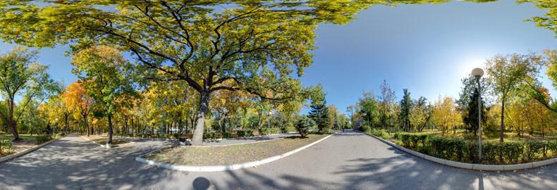 Виртуальная экскурсия по Загородному парку