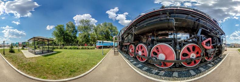 Виртуальная экскурсия по музею железнодорожной техники